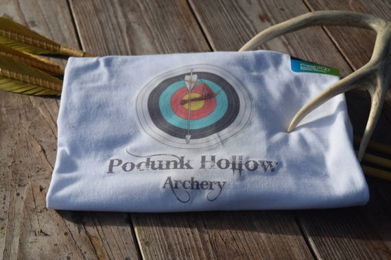 Tee shirt, Podunk Hollow T-shirt, archery t-shirt