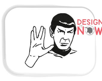 Get 3 Designs - Spock Live Long And Prosper Machine Embroidery Design