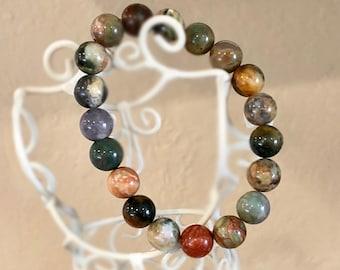 Perles de Bracelet, Bracelet pour femme, Bracelet Bohème, bijoux de pierre gemme, bijoux fait à la main, cadeau pour elle, cadeaux de moins de 25 ans, Colorful