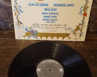 Camelot Vinyl Records LP Julie Andrews / Richard Burton / Play / Theater / Broadway Columbia Records