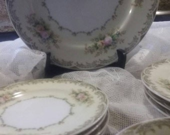 Meito Fine China Floral Dinnerware