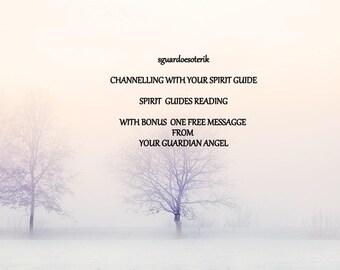 Spirit Guide Reading, Free Bonus messagge, Spirit Guide Psychic Reading, Professional Psychic Advice, meet your Spiritual Guides,pdf file.