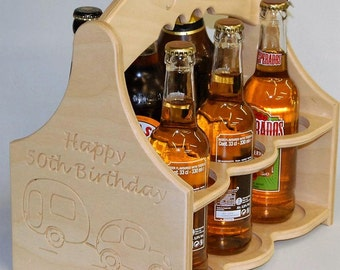 Beer Caddy with Personalisation