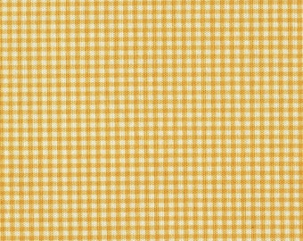 "84"" Rod Pocket Curtain Panels, Yellow Gingham Check, Lined"