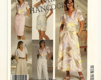 A Front Pleat Straight Skirt, Flared Skirt, Tapered Pants & Shorts Separates Sewing Pattern for Women: Uncut- Sizes 12-14-16 • McCall's 2918