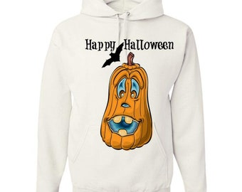 Halloween Pumpkin - fun -Adult Hoodie