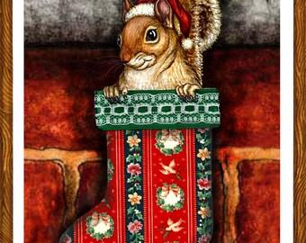 Stocking Full O' Squirrel