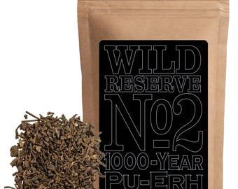 Reserve Tea #2   Pu-erh Black Tea 1000-year Pu-Erh (4 ounce)