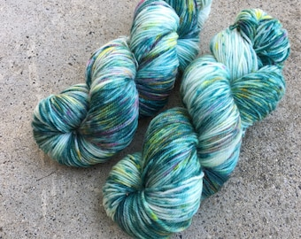 Hand dyed yarn Dandy sock -'Party decorations'