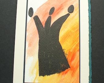 Separation - Original Art Card