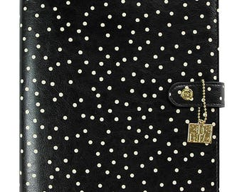 Carpe Diem - Black Speckle A5 Planner - binder only