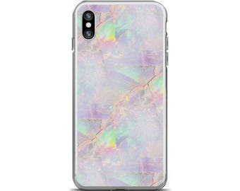 Opal Phone Case Rainbow Opal iPhone Case Opal iPhone 8 Case Pastel Phone Case Opal iPhone 7 Case Opal iPhone X Case Opal iPhone 6s Case