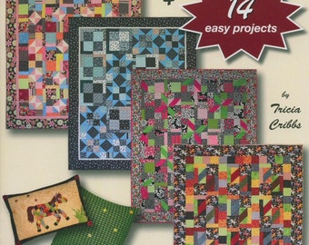 On Sale 15 Percent Off Turning Twenty Feelin Groovy Tricia Cribbs Fat Quarter Pattern Book Quilting Sewing Quilt Book