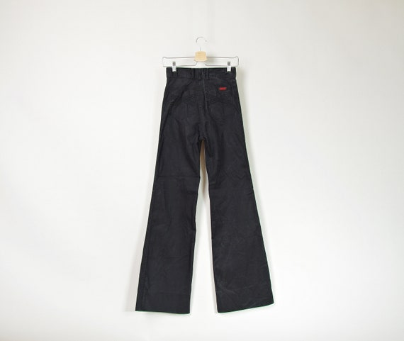 Vtg Jeep high waisted stone washed workwear bell bottoms / size 28
