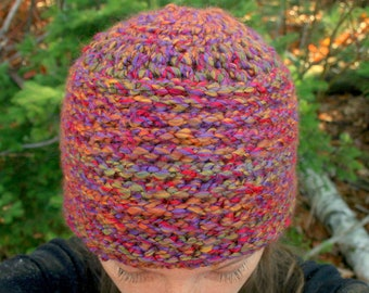Instant PDF File Easy Crochet Pattern For The Ultimate Autumn Hat