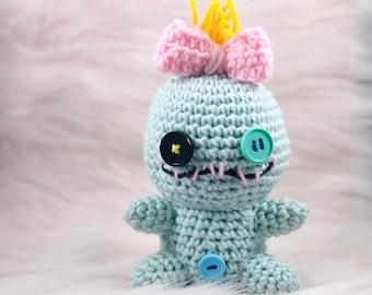 Crochet scrump doll small, Scrump, Crochet scrump, Small Scrump amigurumi