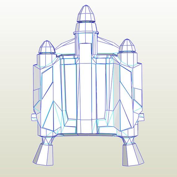 Star Wars Jango Fett Jet Pack Pepakura Cosplay. PDO-Datei