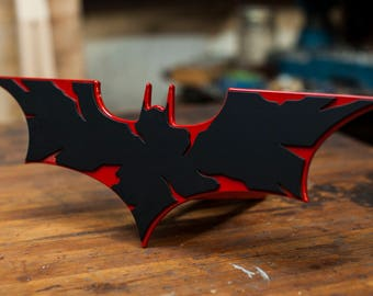 Batman The Dark Knight Trailer Hitch Cover - Firefighter Edition