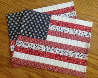 Flag placemats