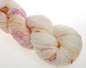 Sock Yarn Hand Dyed Yarn 'Monarch' - Hand dyed Wool Yarn Superwash