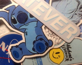 Blue Aesthetic Sticker Pack (10)