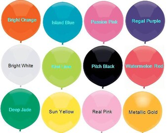 "SALE, 17"" Balloons, Set of 10 Balloons, Confetti Balloons, Outdoor Balloons, Wedding Balloons,Party Decor prop ""Same Day Shipping"""