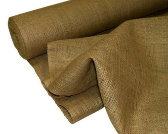 Natural Burlap Fabric (Sold By The Yard) 60""