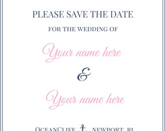 Save the Date Custom