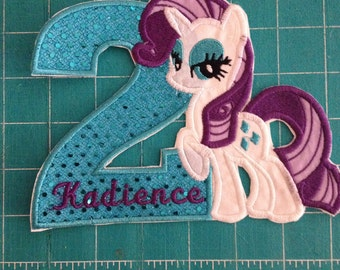Rarity  Iron on patch