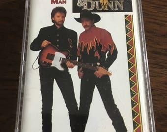 Brooks & Dunn Hard Working Man Cassette Tape