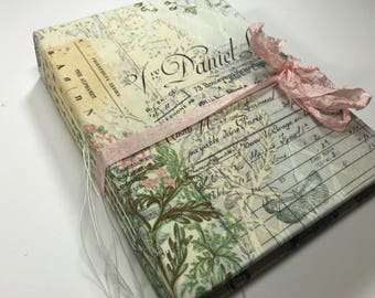 Large Parisian Vintage Journal