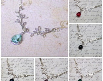 Medieval Necklace - Once Upon a Time - Renaissance Jewelry, Aurora Necklace, Tudor Necklace, Disney Replica, Anne Boleyn, Disney Cosplay