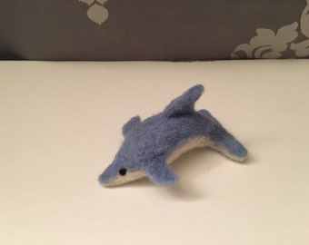 Dolphin - Needle Felted