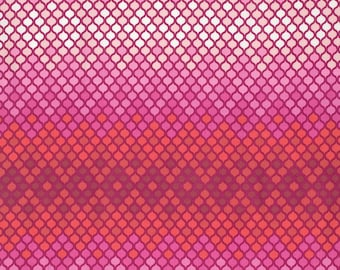 Eden - Mosaic in Magenta by Tula Pink for Freespirit Fabrics
