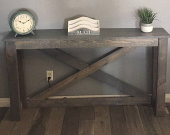 Small Console Entry Sofa Table