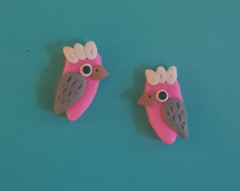 Galah Stud Earrings