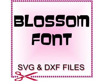 Font Cut Files - Font Design Files For Use With Your Silhouette