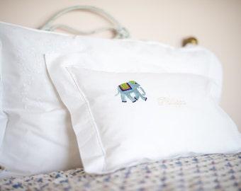 Elephant Baby Pillowcase
