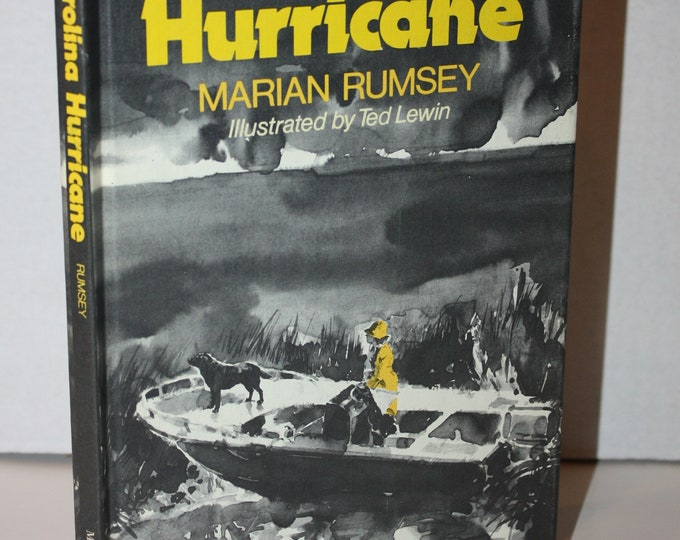 Carolina Hurricane by Marian Rumsey 1977 HC Weekly Reader Books