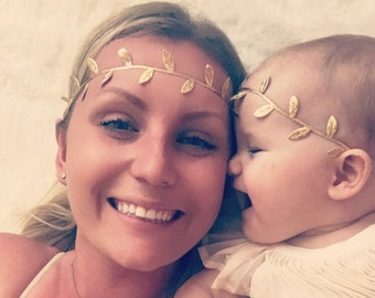 Matching Mom and Baby, Mother and Daughter Matching Headbands, Mommy and Me Headband, Mother Daughter Headbands, Matching Mother Daughter