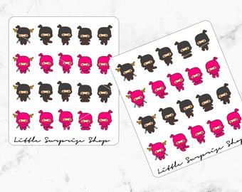 Ninja Stickers // D009