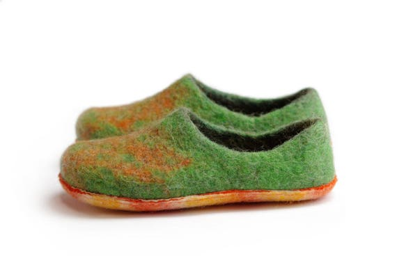 boiled home slippers wool wool colored cozy Alpaca wool felted green slippers slippers wool slippers slippers slippers slippers slippers 4XIx4rn