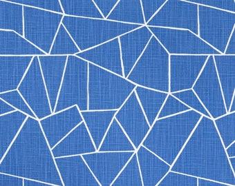 """Premier Prints Fabric-CUT GLASS-Royal Slub (Blue)-Or-Color Choice-Fabric By The Yard-54"""" wide-Slub Canvas-Decorator fabric"""