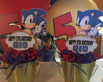 Sonic the Hedgehog centerpiece