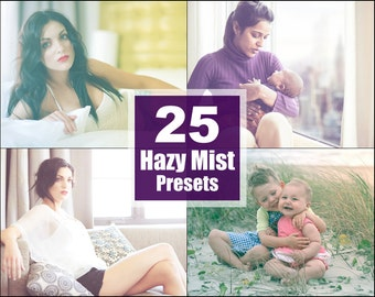 Hazy Mist Lightroom Presets