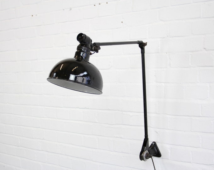 Large Industrial Task Lamp By Ernst Radermacher Circa 1930s