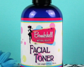Facial Toner~~~Made with Floral Hyrdosol, Aloe Vera and Extracts
