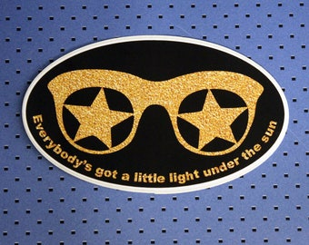 Everybody's got a little light under the sun Bumper Sticker