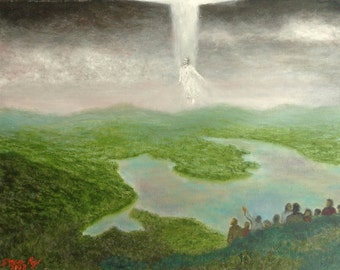 Rising (original oil painting)