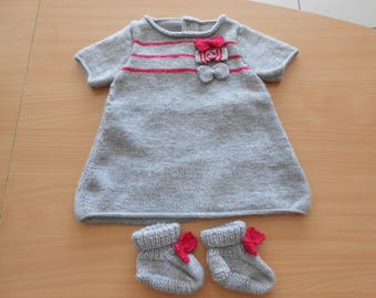 baby girl dress size 3 months